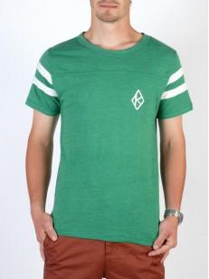 KROOKED tričko TEAM K GRN/WHT