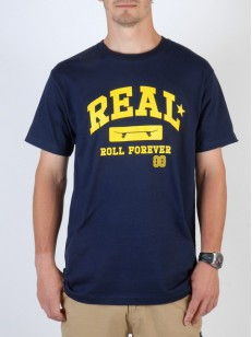 REAL triko ARCH NAVY/YLLW