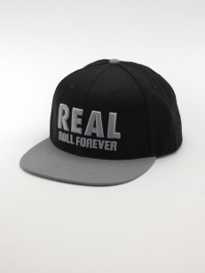REAL kšiltovka GENUINE BLK/GRY