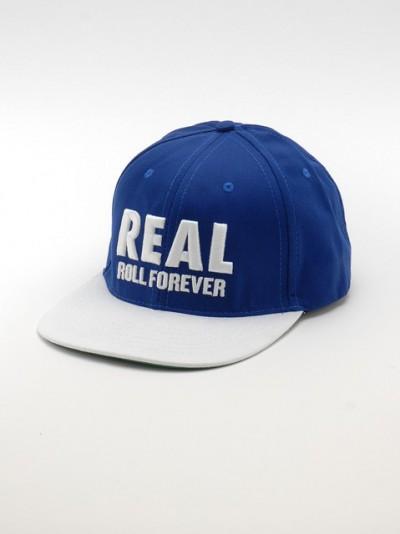 REAL kšiltovka GENUINE BLUE/WHT