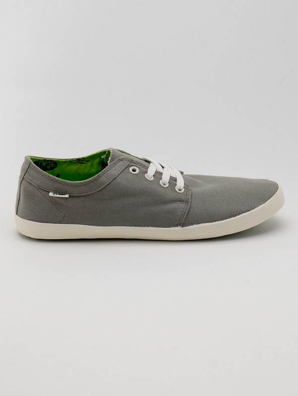 Globe Boty Red Belly Mid Grey/lime - 11us šedá