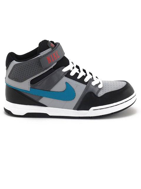 Nike Boty Mogan Mid 2 Jr 043 - 6usy šedá