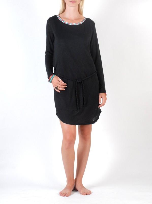 Billabong Šaty Kimi Black - S černá