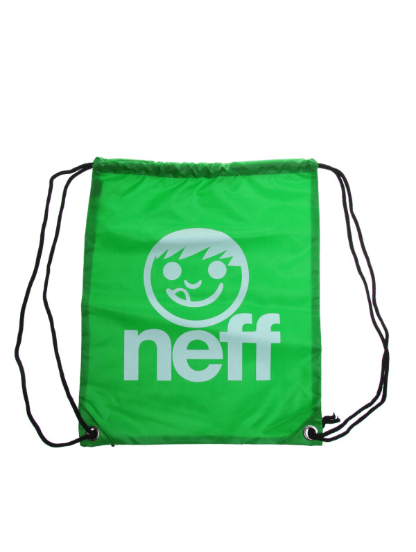 Neff Batoh Cinch Sack Green White zelená