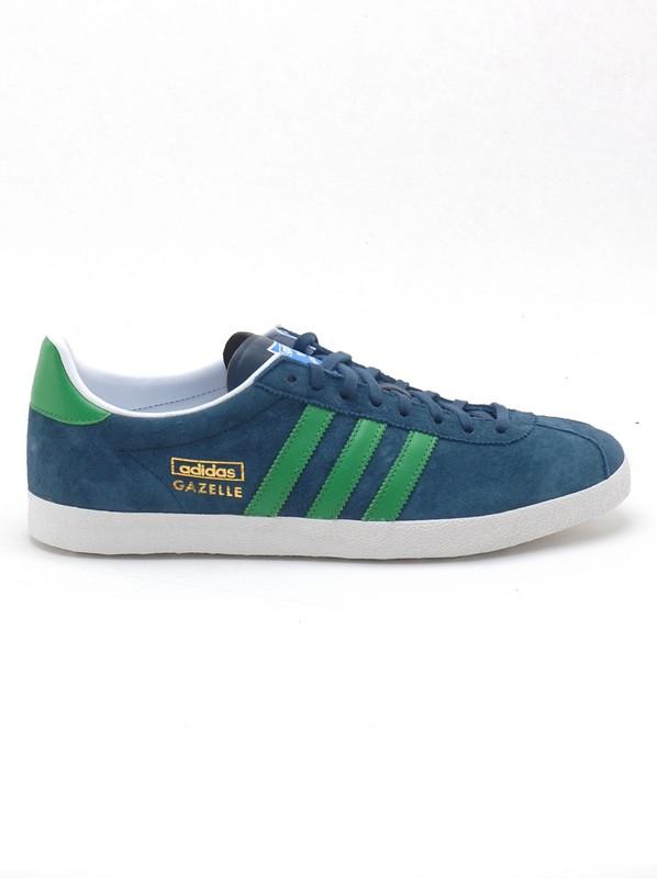 Adidas Boty Gazelle Og Dpetrl/reagr - 11us modrá
