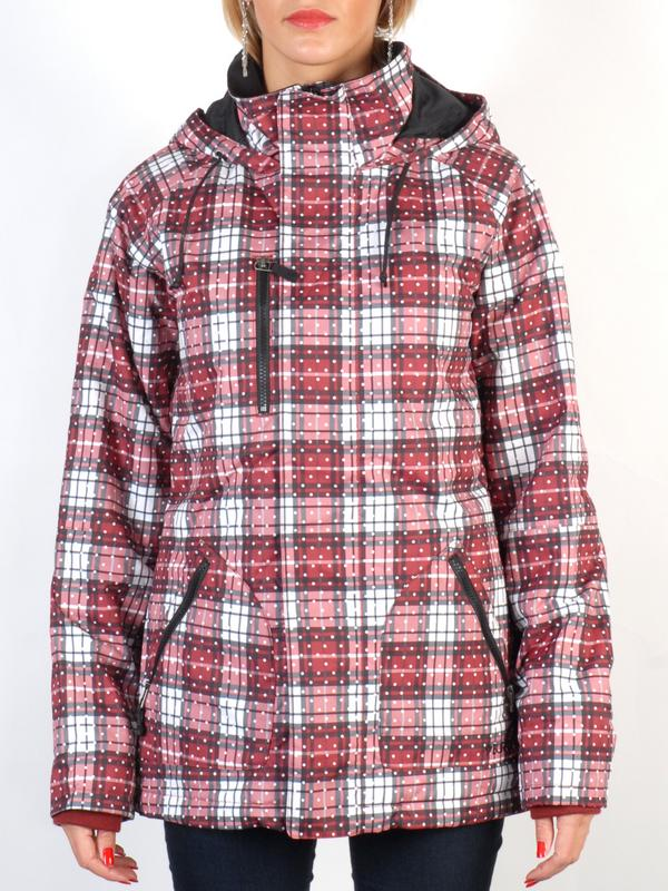 Burton Bunda No Way Redwood Grunge Pld - S červená
