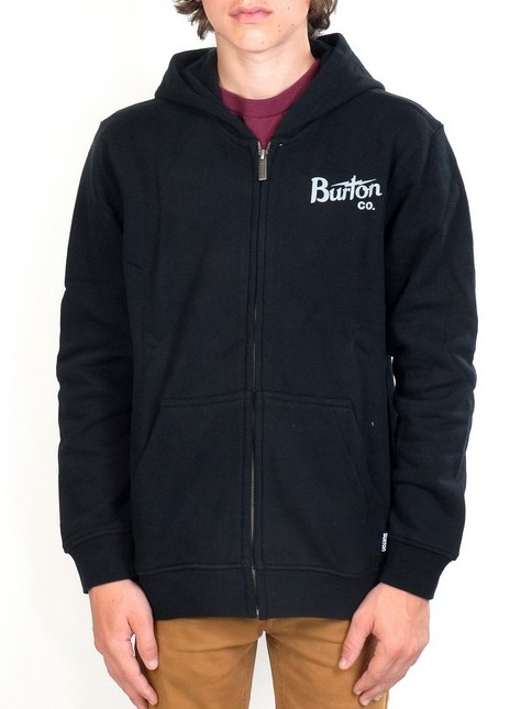 Burton Mikina Bolt True Black - 18 černá