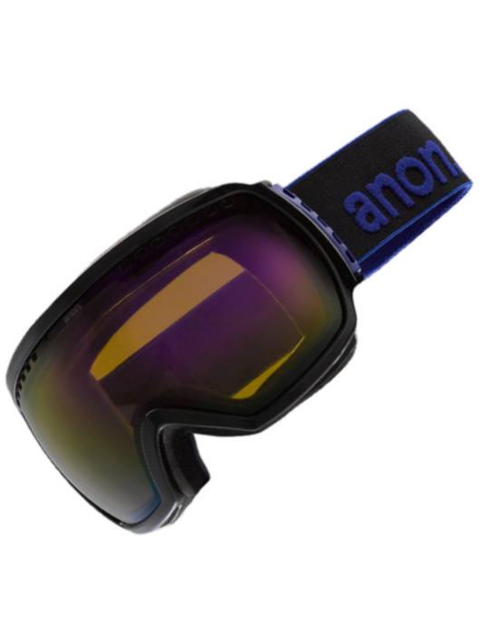 Anon Brýle Comrade Black/blue Solex černá