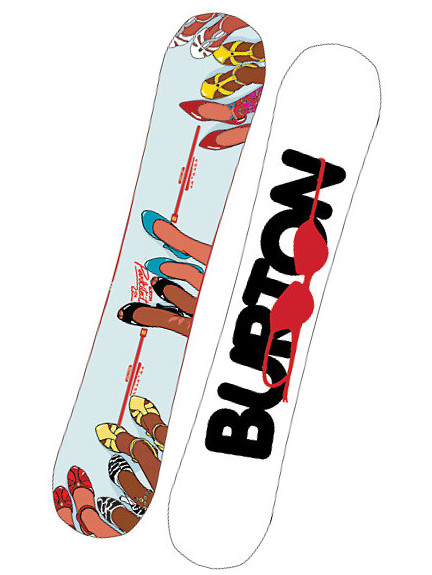Burton Snowboard Parkitect Blu/wht 154