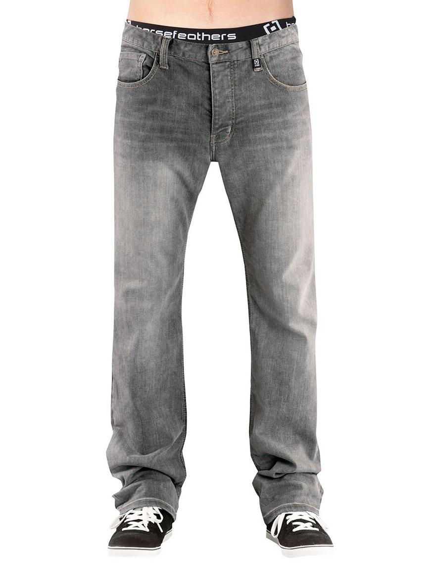 Horsefeathers Kalhoty Truck Light Gray - 28 šedá