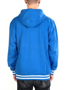 WESC mikina SC CLASSIC Snorkel Blue