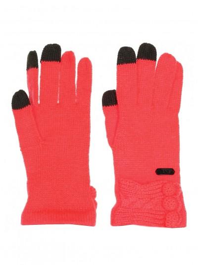 VANS rukavice UPRISING NEON RED
