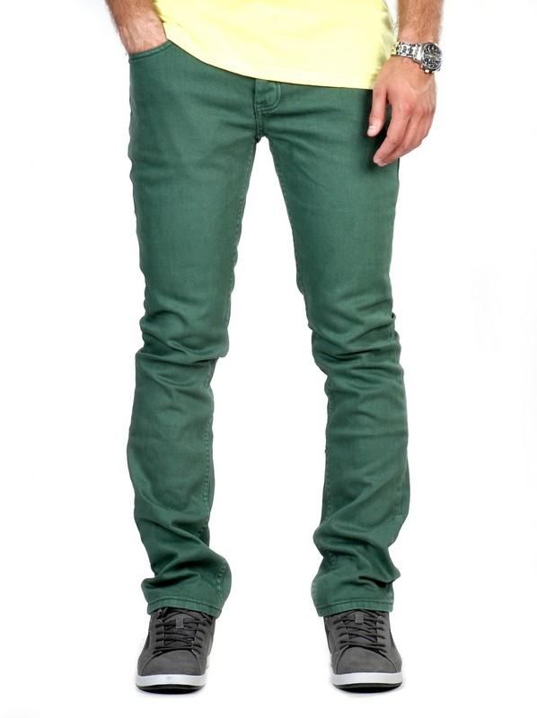 Etnies Kalhoty Slim Fit Forrest - 32 zelená