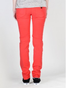 ROXY kalhoty TORAH FLAT CANDY RED