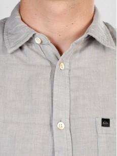 QUIKSILVER košile HIGHWOOD LIGHT SLATE