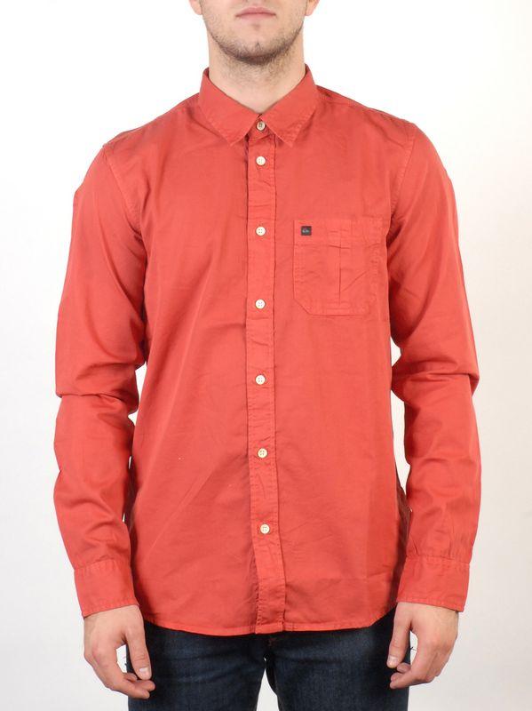 Quiksilver Košile Arnoy Red Earth - Xl oranžová