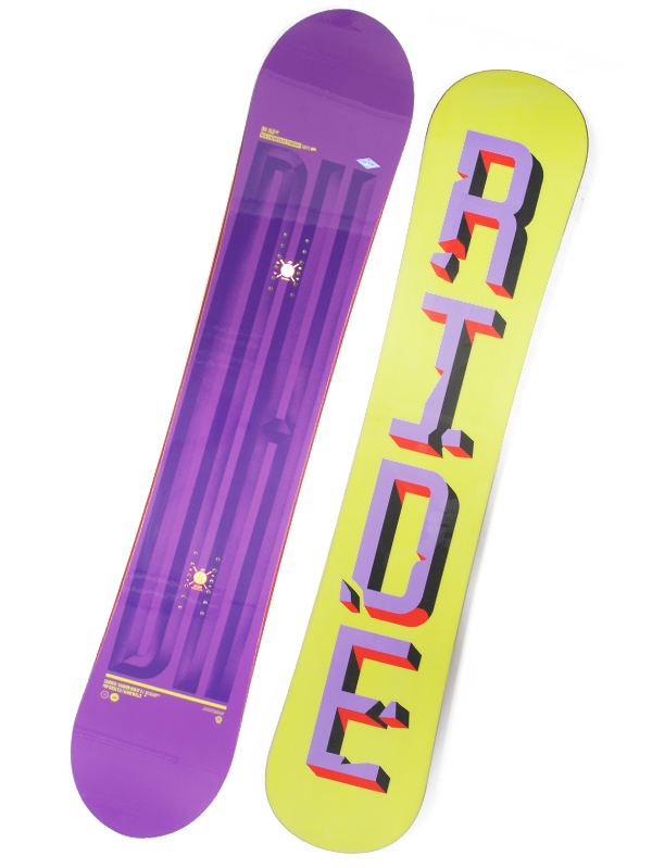 Ride Snowboard Dh Assorted 156w fialová