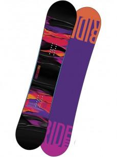 RIDE snowboard COMPACT BLK/VIO 139
