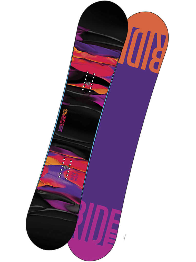 Ride Snowboard Compact Blk/vio 139 černá
