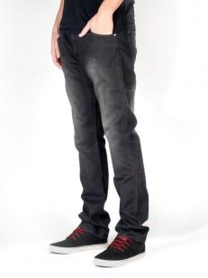 MAKIA kalhoty SLIM FIT BLACK