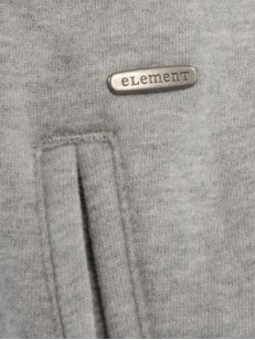 ELEMENT mikina TESS GREY HEATHER