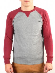 ELEMENT svetr VERMONT GREY HEATHER