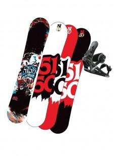 5150 snowboardov� set Nomad +v�z�n� Morrow AXIOM B