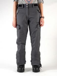 REHALL kalhoty LORI Solid Black Mel
