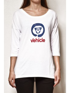 VEHICLE triko FEELA WHITE