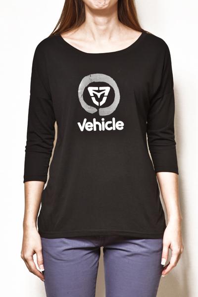 Vehicle Triko Feela Black - XS