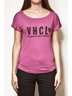 VEHICLE triko CHARACTERA PINK HEATHER