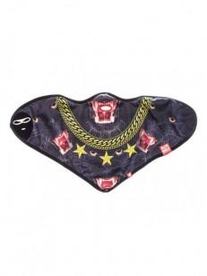 AIRHOLE šátek PANTHERS cerna