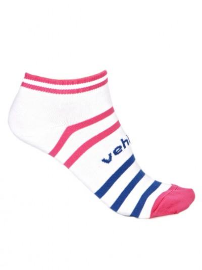 VEHICLE ponožky MUFFY WHITE/PINK