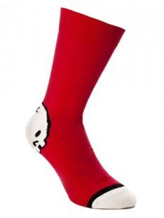 SOCK YOU ponožky BIG SKULL RED
