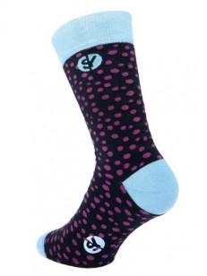 SOCK YOU ponožky SPOTIFI BLK