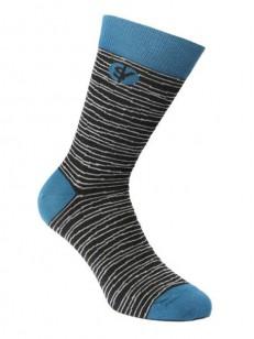 SOCK YOU ponožky FLATLINE BLK