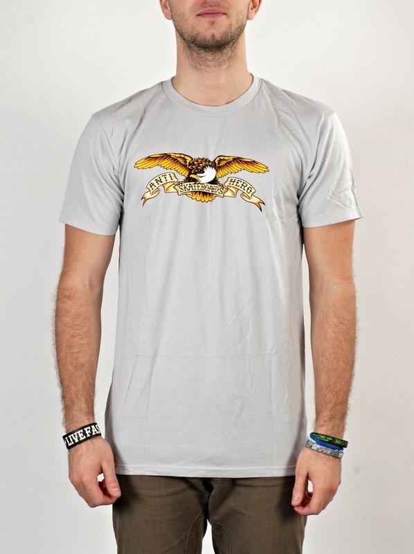 Antihero Triko Eagle Silver - L šedá
