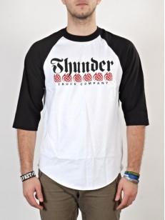 THUNDER triko ONE LINER WHT/BLK