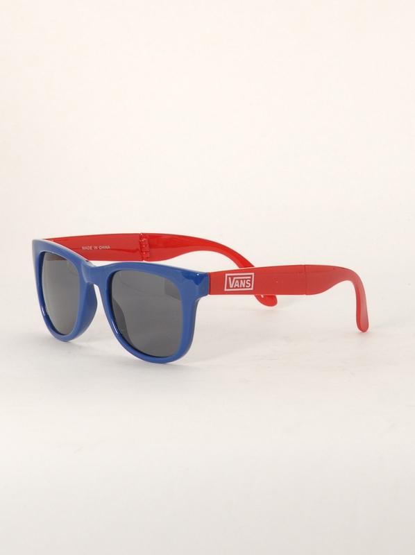 Vans Sluneční Brýle Foldable Reinvent Red modrá