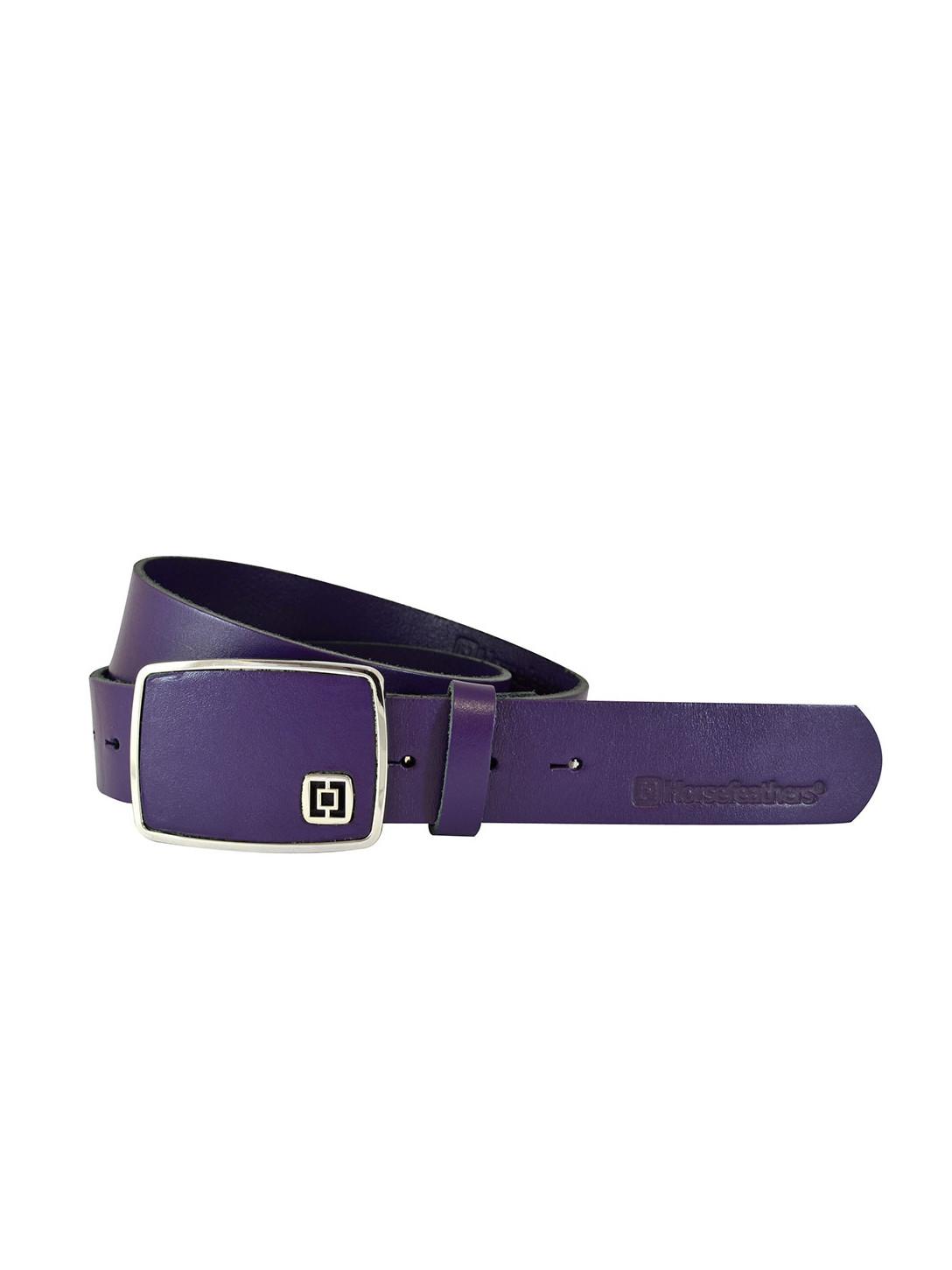 Horsefeathers Pásek Ginger Purple fialová