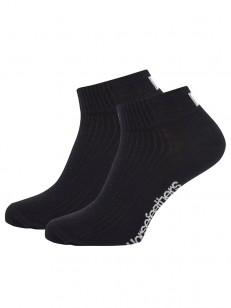 HORSEFEATHERS ponožky RUN black