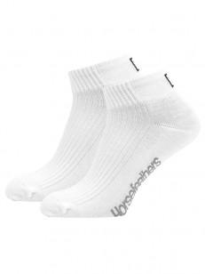 HORSEFEATHERS ponožky RUN white