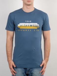 ALTAMONT tričko WORN OUT BLUE