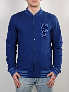 WESC mikina WARREN blue depths