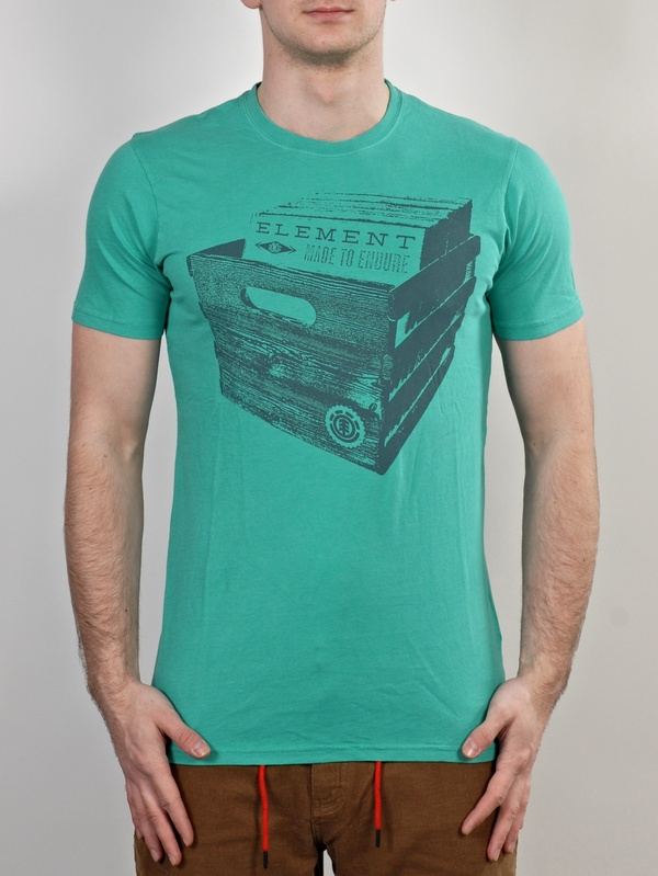 Element Triko Crate Digger Aqua - M zelená