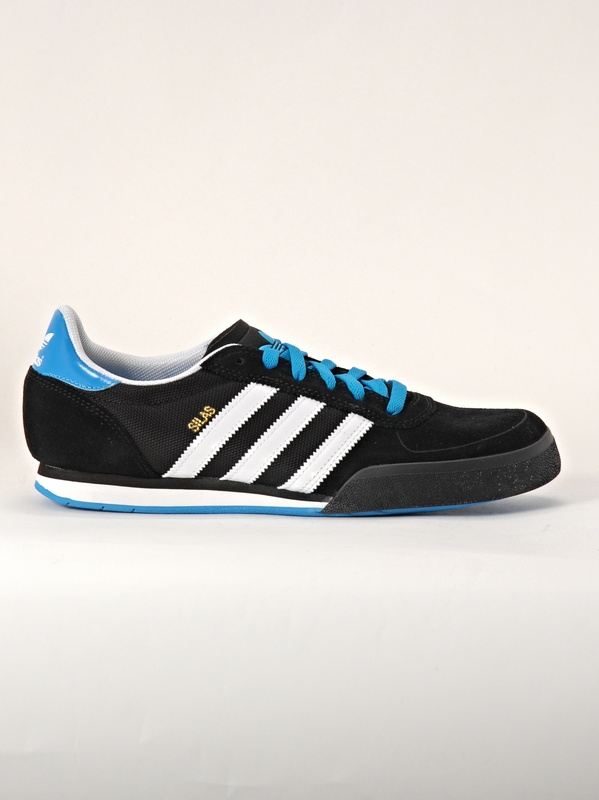 Adidas Boty Silas Slr Blk/wht/blu - 12us černá