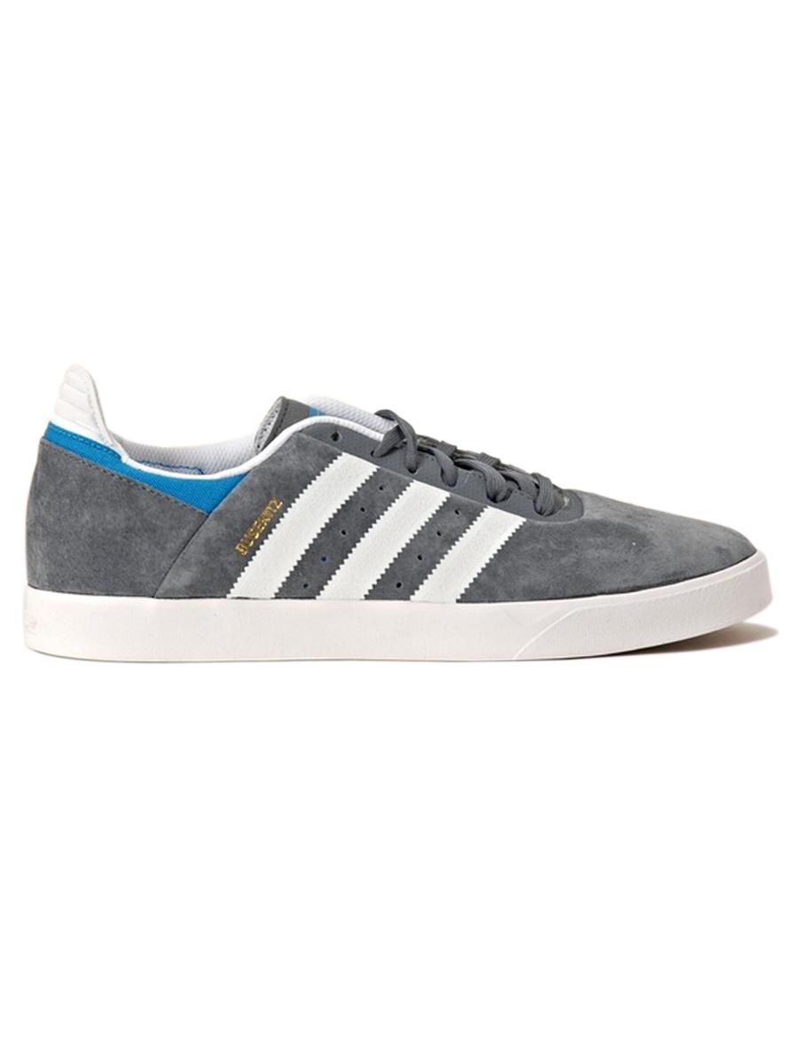 Adidas Boty Busenitz Adv Gry/wht/blu - 11us šedá