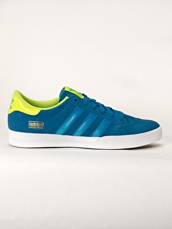 Adidas Boty Lucas Blu/lime - 12us modrá