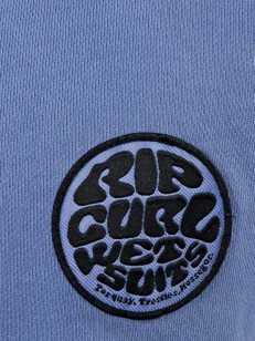 RIP CURL mikina WETSUIT STRIPE COLONY BLU