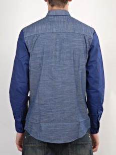 WESC košile ELMONT blue depths